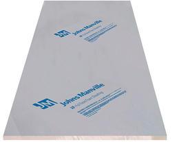 Johns Manville Foil Faced Polyiso Foam Insulation 4 X 8