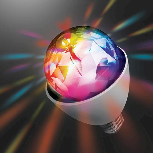 Superb Sharper Image® Party Disco Rotating Light Bulb At Menards®