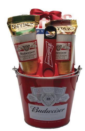 Budweiser® or Bud Light® Ice Bucket Gift Set