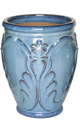 Large Ceramic Rhea Planter At Menards