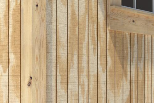 5/8 x 4 x 8 Pine Plywood Siding 8