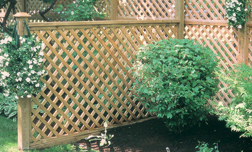 Nice 4u0027 X 8u0027 Heavy Duty Cedar Lattice Panel At Menards®