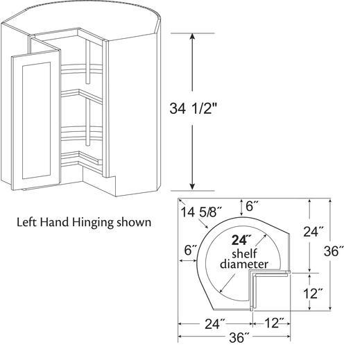 Kitchen Corner Base Cabinet At Menards