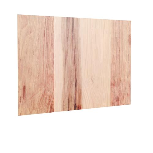 Cardell Concepts Hickory Natural 48 Kitchen Cabinet End Panel At Menards
