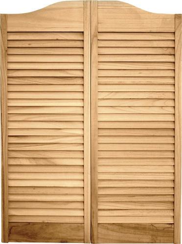 Designeru0027s Image Pine Unfinished 2 Leaf Café Door Set At Menards®