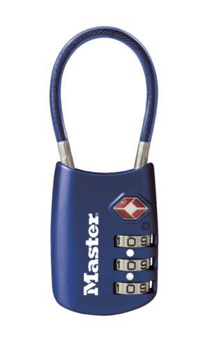 Master Lock 1 12 Steel Blue Combination Padlock At Menards