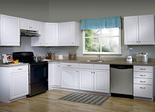 Value Choice 24 Ontario White Diagonal Kitchen Corner Wall