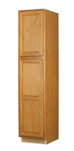 Value Choice 18 Huron Oak Standard 2 Door Tall Utility Cabinet At Menards