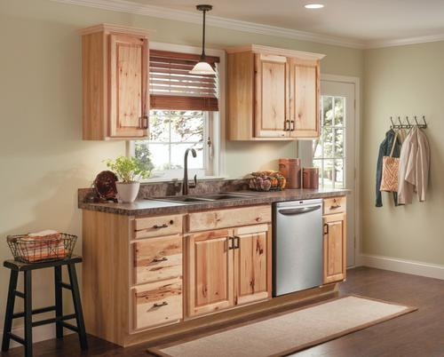 Value Choice 36 Thunder Bay Hickory Easy Reach Kitchen Corner Base