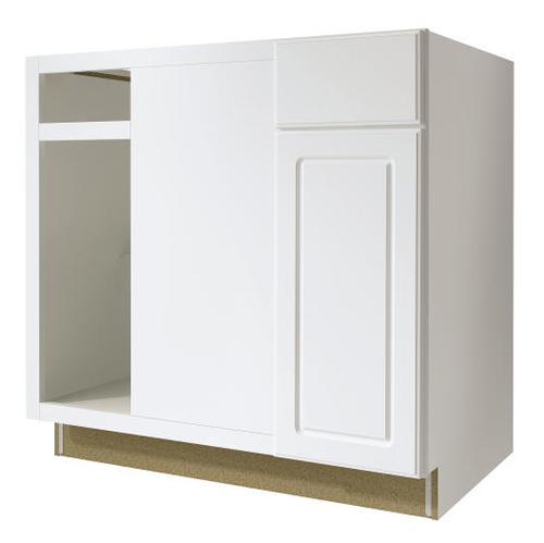 Value Choice 36 Ontario White Reversible Blind Kitchen Corner Base Cabinet At Menards