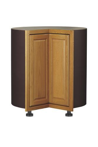 "Value Choice 36"" Huron Oak Easy-Reach Kitchen Corner Base ..."
