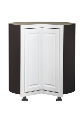 Value Choice 36 Ontario White Easy Reach Kitchen Corner Base Cabinet At Menards