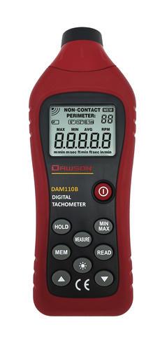 Dawson Tools DAM110AB Digital Non-Contact Tachometer at Menards®