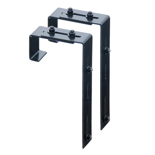 Mayne Adjustable Deck Rail Bracket 2 Pack At Menards