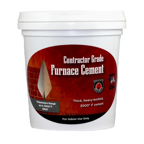 Meecos Red Devil 3000 F Contractor Grade Furnace Cement 16 Oz At
