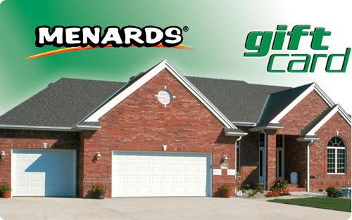 Menards Gift Card - House at Menards®