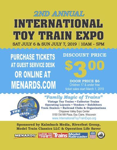 International Toy Train Expo Ticket at Menards®