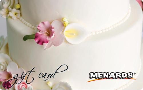 Menards Gift Card - Wedding Cake at Menards®