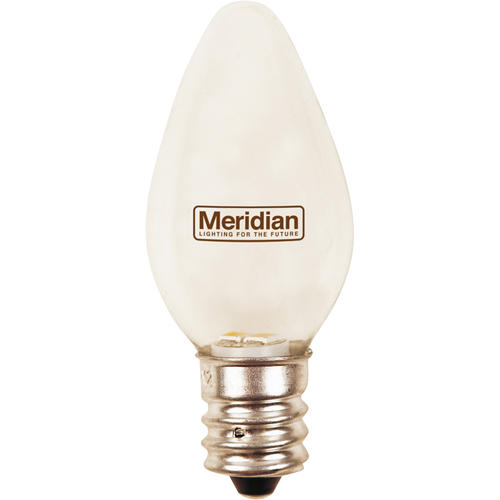 Meridian 4w Equivalent General Purpose Warm White C7 Led