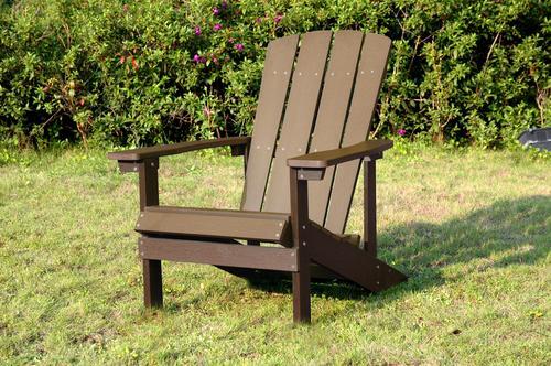 backyard creations adirondack patio chair at menards rh menards com