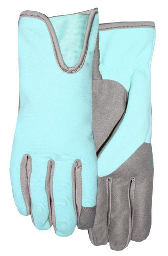 8a2fc7944 Rugged Wear® Ladies' Synthetic Palm Garden Gloves - Large, Teal. Model  Number: 161F6T-L Menards ® SKU: 6601236