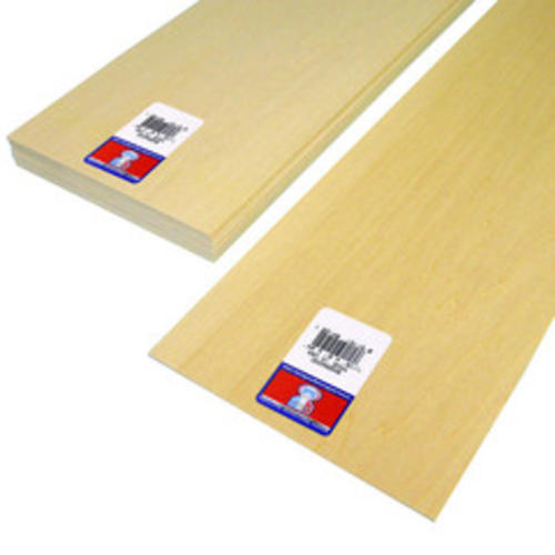 Midwest Products 6 X 24 Basswood Sheets At Menards