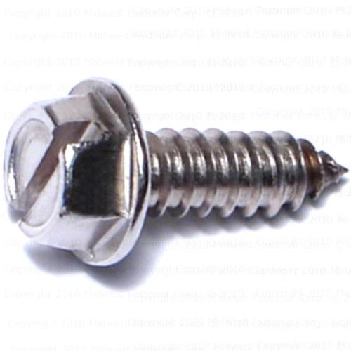 Zinc Plated 5//16-12 Thread Size 3 Length 3 Length 5//16-12 Thread Size Hex Drive Pack of 300 Steel Sheet Metal Screw Pack of 300 Hex Washer Head Small Parts 3148ABW Type AB