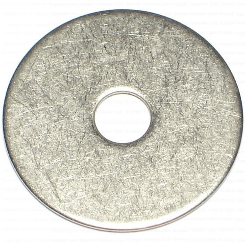 """Midwest Fastener® 1/4"""" x 1-1/4"""" Grade 18-8 Stainless Steel Fender Washer - 15 Count"""
