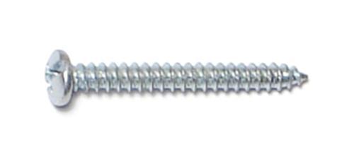 Sheet Metal Screws Pan Head Stainless Steel #12 x 3 Qty 10
