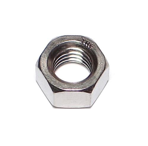 "Midwest Fastener® 3/8""-24 Stainless 18-8 Fine Thread Hex Nut - 100 Count"