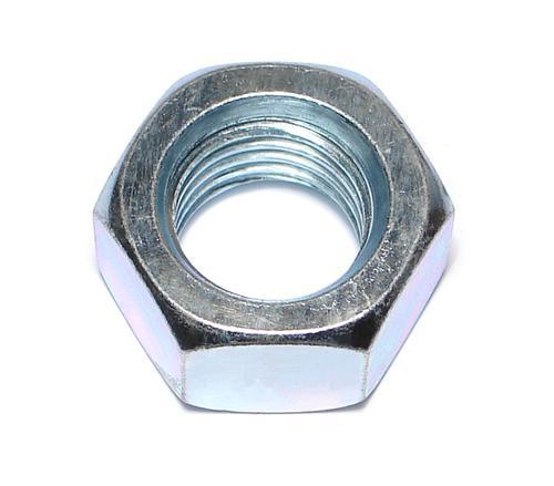 """Midwest Fastener® 1""""-8 Zinc Grade 2 Coarse Thread Hex Nut - 97 Count"""
