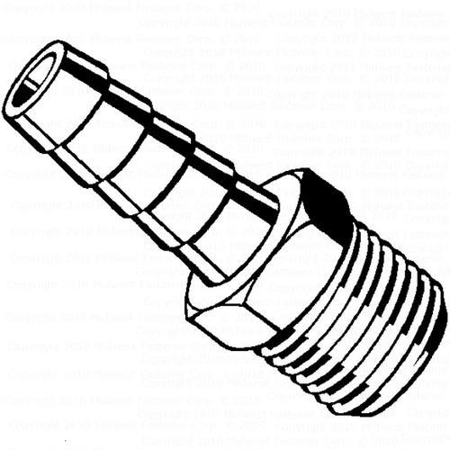 Midwest Fastener 14 Ip Female Industrial Plug