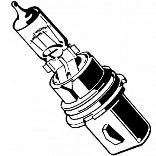 Midwest Fastener Headlight Bulb