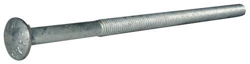 100 Pieces 1//2-13 X 10 Carriage Bolts Hot Dipped Galvanized