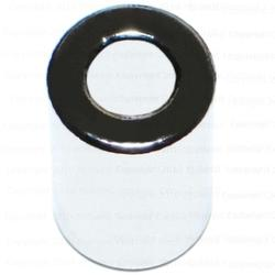 """Details about  /5.5/"""" X 1.5/"""" WHITE PLASTIC SPACER 1.48/"""" SHAFT"""