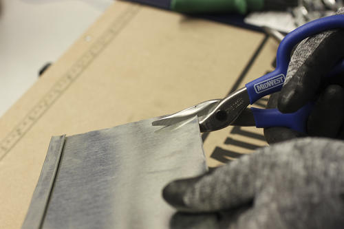 """Forged Blade Midwest Tool 10/"""" Duckbill Tinner Snip"""