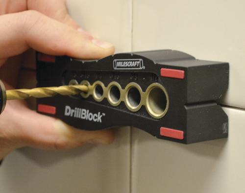 Milescraft Drillblock Hand Held Drill Guide At Menards