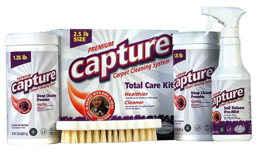 capture® deep cleaning powder carpet system at menards®