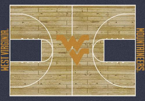 "Milliken® College Basketball Court Area Rug 3'10"" x 5'4"""