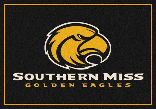 """Milliken® College Team Spirit Logo Area Rug 2'8"""" x 3'10"""""""