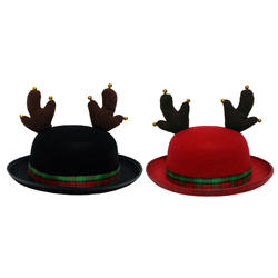 bae82a6f0e86a Enchanted Forest® Christmas Hat with Antlers - Assorted Styles