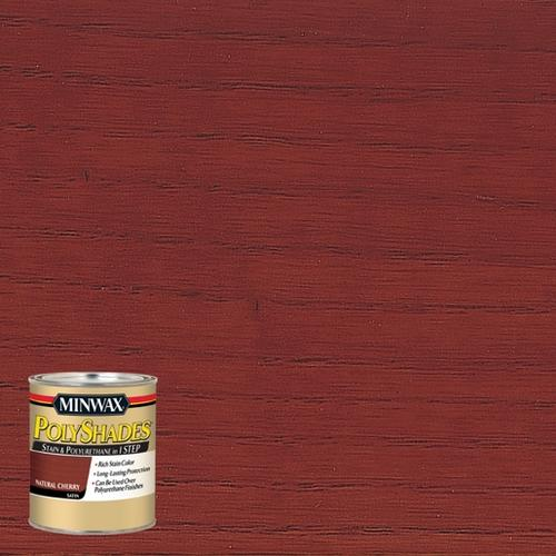 MinwaxR PolyshadesR Satin Natural Cherry Stain And Polyurethane