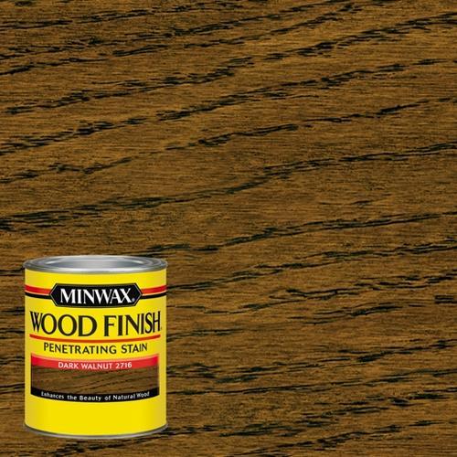 Minwax Wood Finish Dark Walnut Interior Stain 1 Qt At Menards
