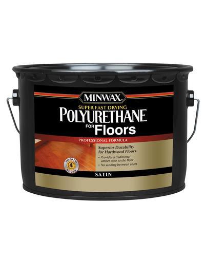 Minwax Super Fast Drying Clear Satin Polyurethane 2 5 Gal At