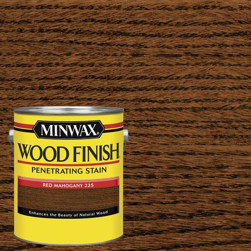MinwaxR Wood FinishTM Red Mahogany Interior Stain