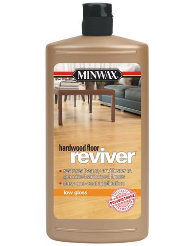 Minwax Low Gloss Hardwood Floor Reviver 1 Qt At Menards