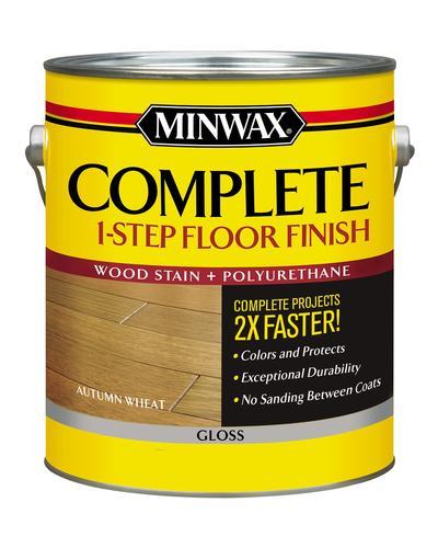 Minwax 174 Complete 1 Step Floor Finish Autumn Wheat Gloss