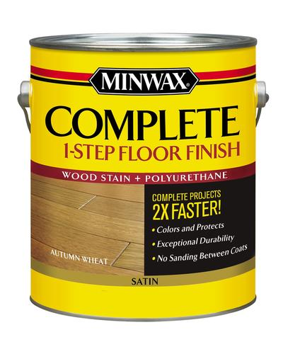Minwax 174 Complete 1 Step Floor Finish Autumn Wheat Satin