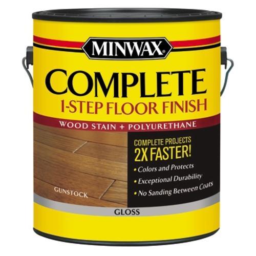 Minwax 174 Complete 1 Step Floor Finish Gunstock Gloss 1