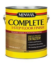 Minwax 174 Complete 1 Step Floor Finish Autumn Wheat Satin